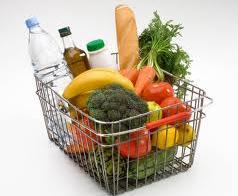 شراء المواد الغذائية