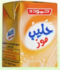 Banana Flavoured Milk