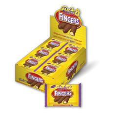 Biscuit Fingers Coated With Chocolate