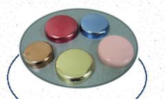Dome Jar Caps